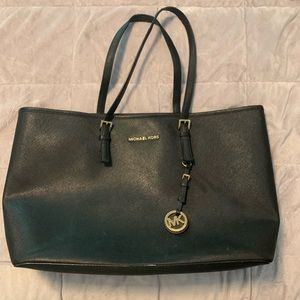 Large Michael Kors Black Tote Purse